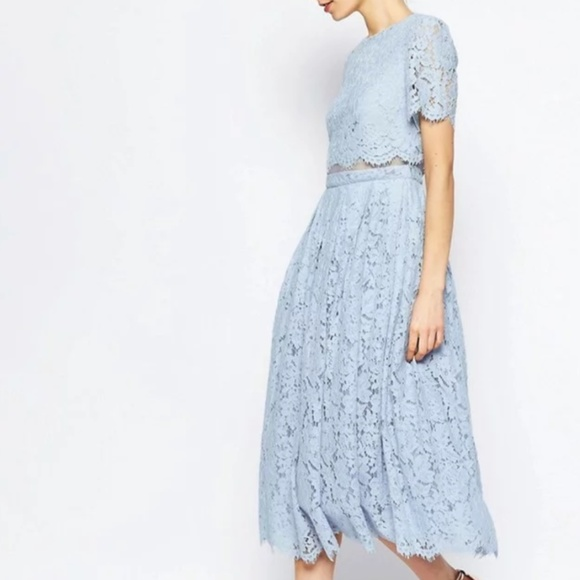 3a08910c91a3 ASOS Dresses & Skirts - ASOS Lace Midi Dress